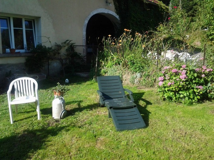 Location de vacances - Chambre d'hôtes à Fresse - Le jardin