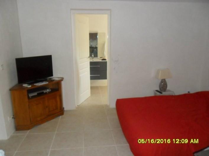 Location de vacances - Appartement à Sainte-Maxime - Coin TV