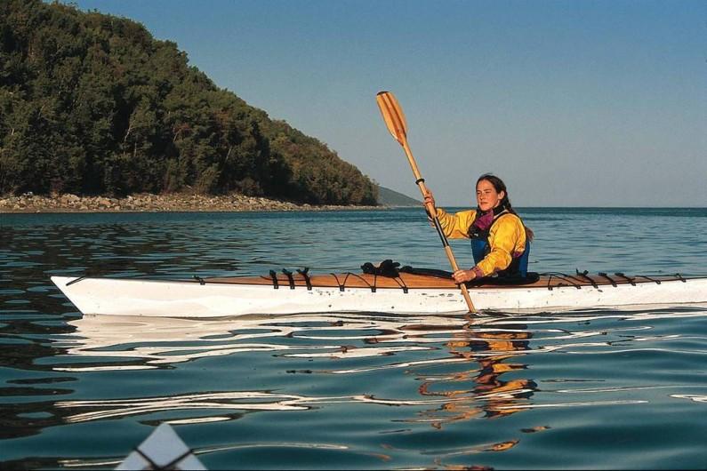 Location de vacances - Chalet à Les Éboulements - Activités plein air tout près dont kayak de mer