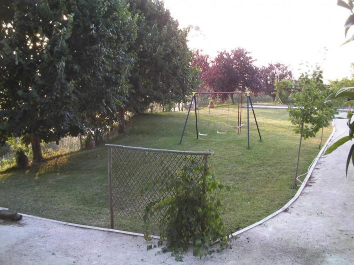 Location de vacances - Appartement à Bemposta - Jardin