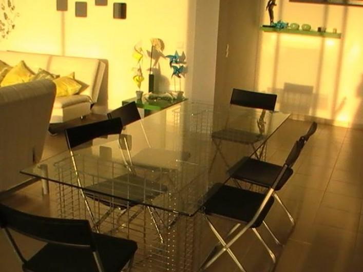 Location de vacances - Appartement à Bemposta - Salle à manger