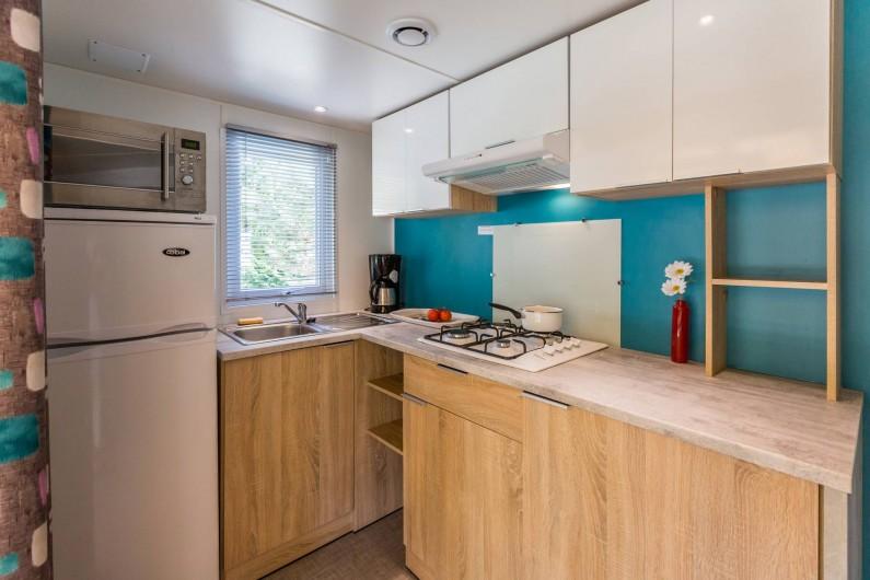 Location de vacances - Bungalow - Mobilhome à Thonon-les-Bains - Coin cuisine