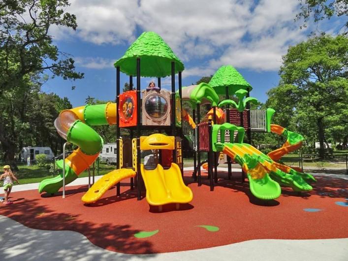 Location de vacances - Bungalow - Mobilhome à Thonon-les-Bains - Aire de jeux pour les enfants