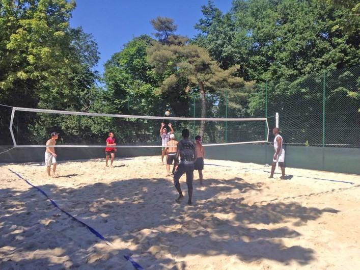 Location de vacances - Bungalow - Mobilhome à Thonon-les-Bains - Terrain de beach volley