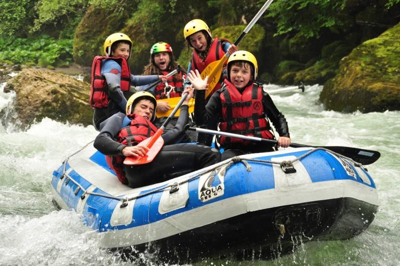 Location de vacances - Bungalow - Mobilhome à Thonon-les-Bains - Base de rafting sur le camping