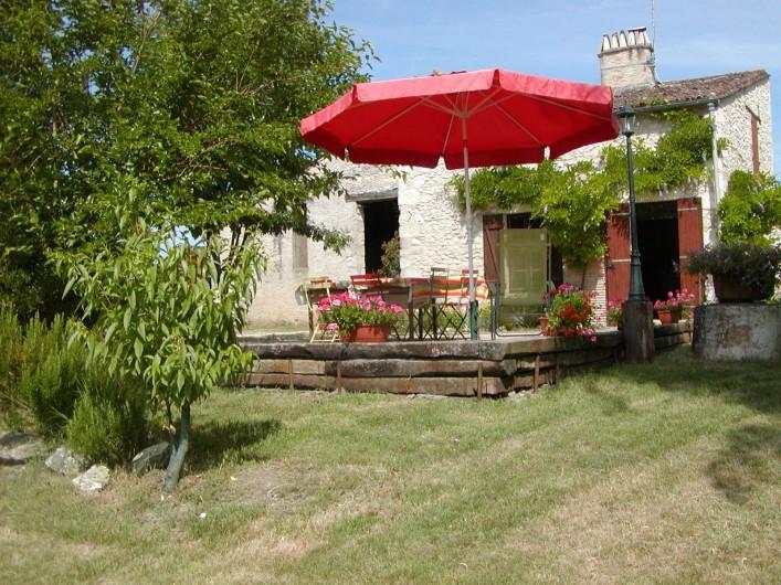 Location de vacances - Gîte à La Sauvetat-du-Dropt - La Façade