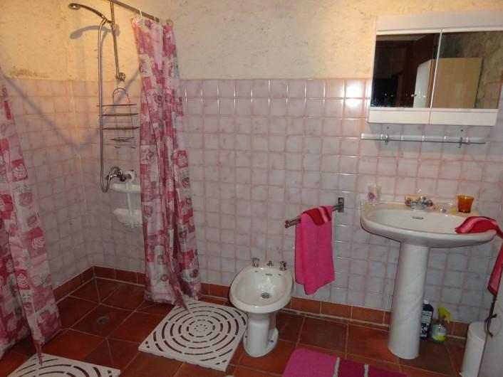 Location de vacances - Gîte à La Sauvetat-du-Dropt - La salle d'eau