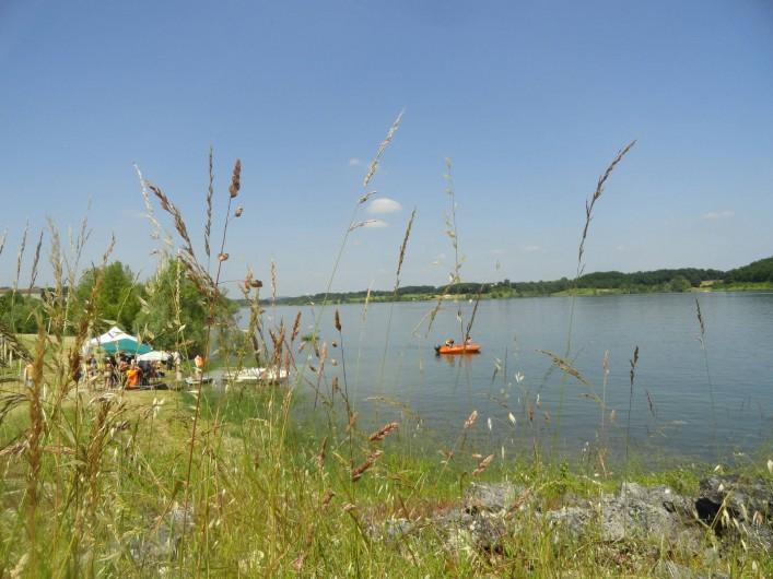 Location de vacances - Gîte à La Sauvetat-du-Dropt - Lac de l'Escourroux 1 km