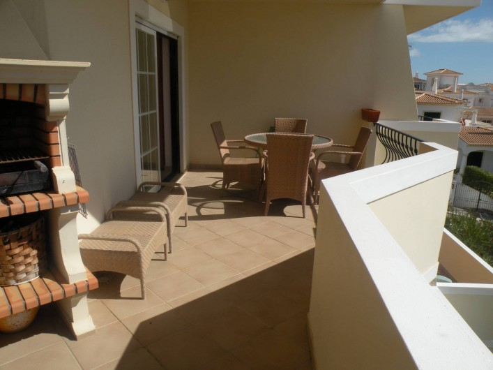 Location de vacances - Appartement à Albufeira - BALCON TERRASSE AVEC BARBECUE