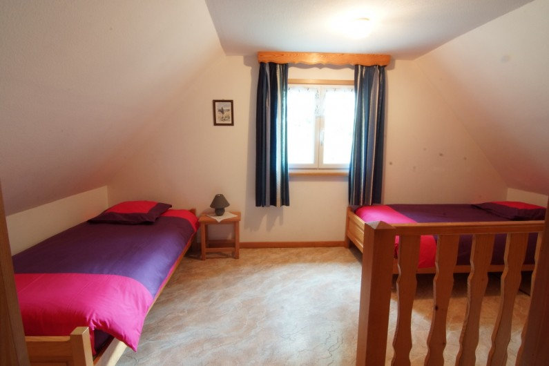 Location de vacances - Gîte à Hohrod - Mezzanine avec 2 lits (90)