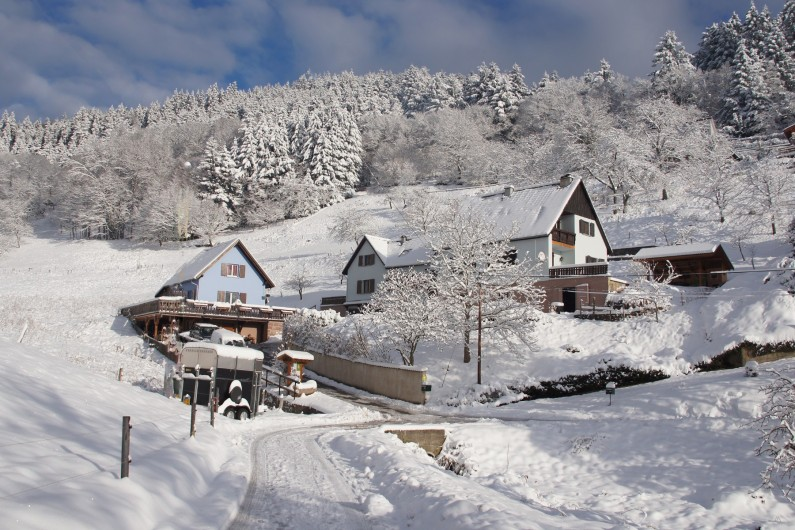 Location de vacances - Gîte à Hohrod - L'hiver à Hohrod