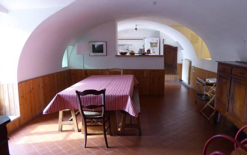 Location de vacances - Maison - Villa à Marano di Valpolicella - Salle à manger ouverte sur la cuisine