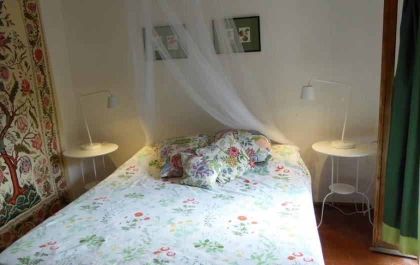 Location de vacances - Maison - Villa à Marano di Valpolicella - Chambre dite de Juliette (car elle dispose d'un balcon!)