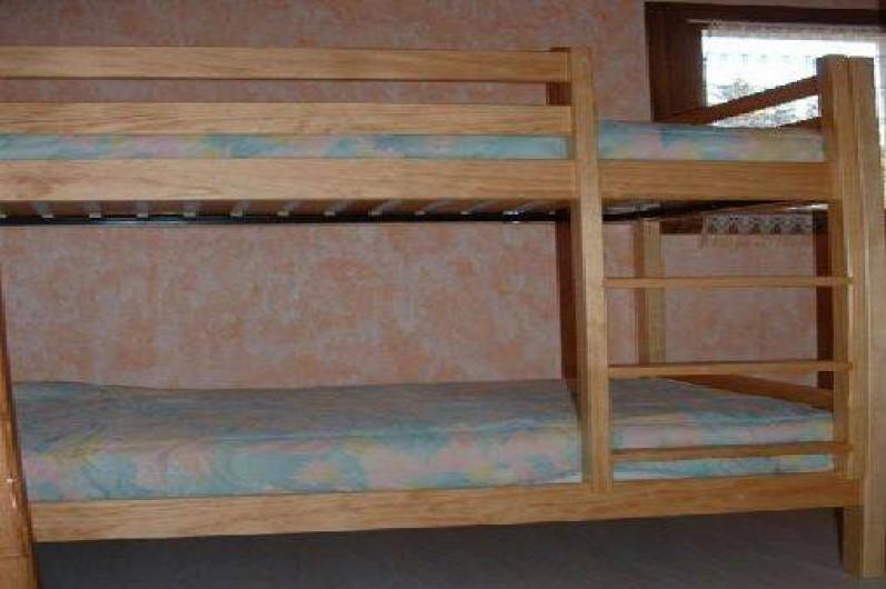 Location de vacances - Appartement à Manigod - les lits superposés