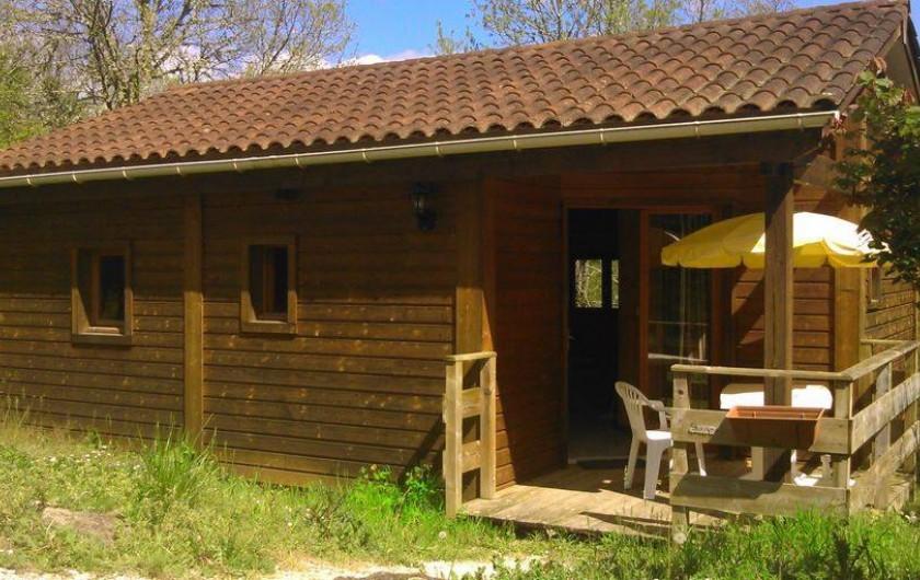 Location de vacances - Chalet à Marquay - Chalets Fanlac/Siorac