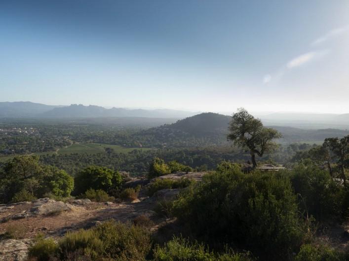 Location de vacances - Mas à Bagnols-en-Forêt - Les vues spectaculaires du coin