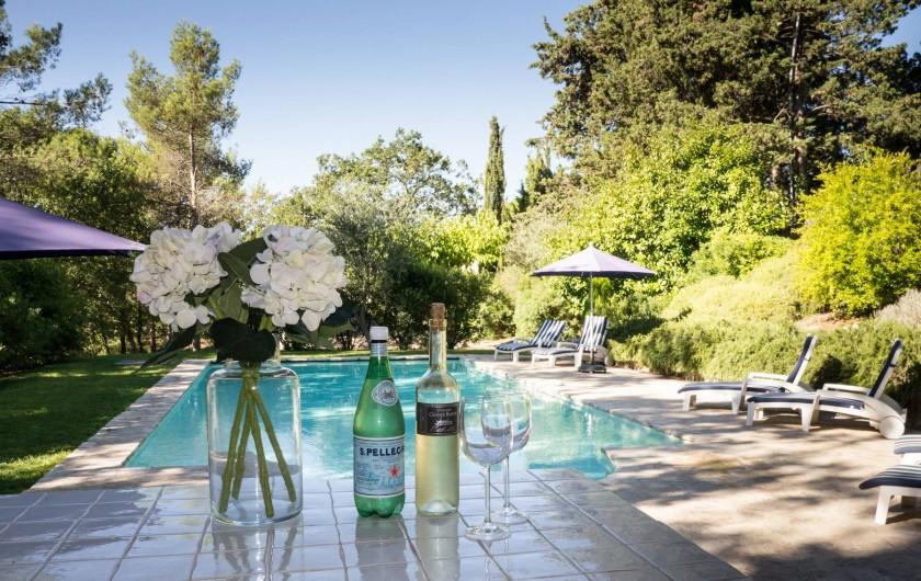 Location de vacances - Mas à Bagnols-en-Forêt - Apero!