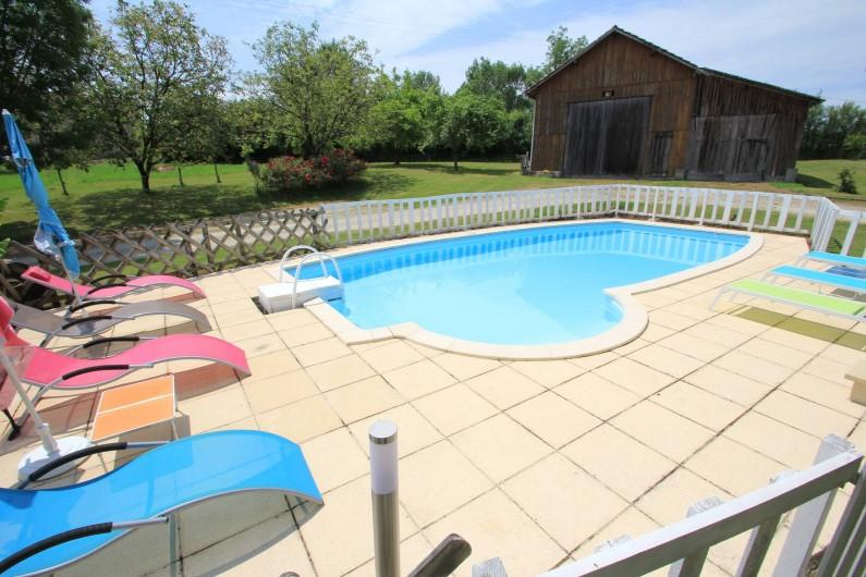 Location de vacances - Gîte à Fraisse - Piscine