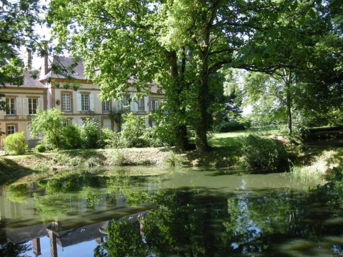 Location de vacances - Château - Manoir à Boissy-lès-Perche - Côté Bois