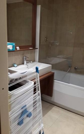 Location de vacances - Studio à Isola - Salle de bain