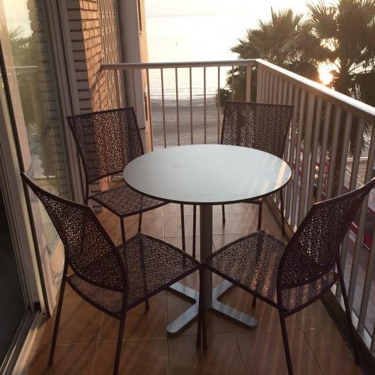 Location de vacances - Appartement à Calp - terrasse de 12m²