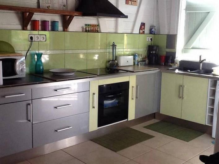 Location de vacances - Villa à Le Carbet - CUISINE COMPLETE