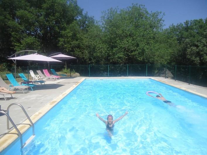 Location de vacances - Gîte à Marminiac - piscine 12 X 6 m   sécurisée