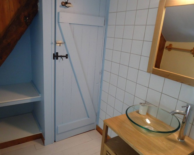 Location de vacances - Gîte à Marminiac - salle de bain