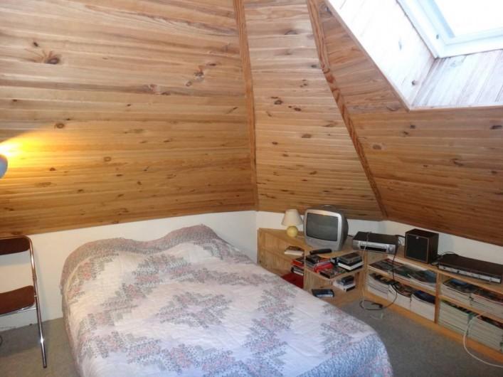 Location de vacances - Maison - Villa à Saint-Malo - A l'étage : chambre d'appoint très appréciée par les jeunes