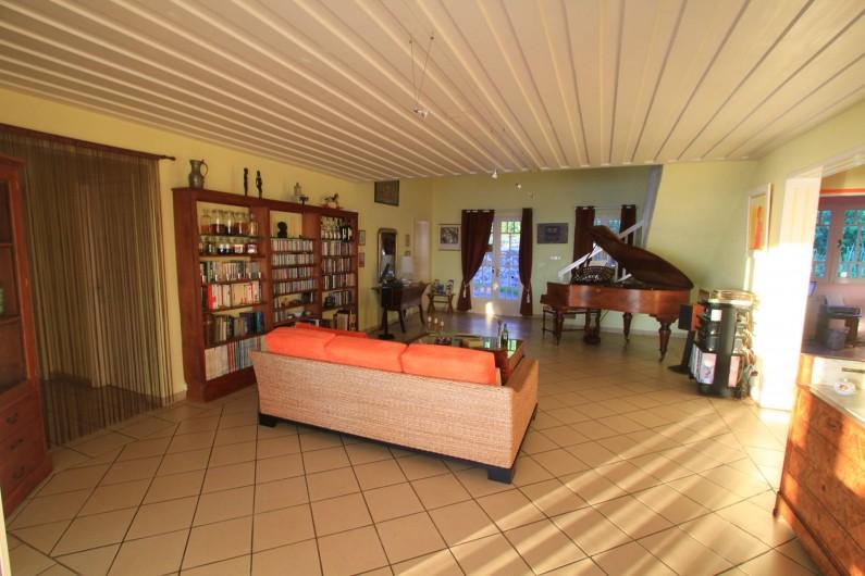 Location de vacances - Chambre d'hôtes à Saint-Leu - Le séjour