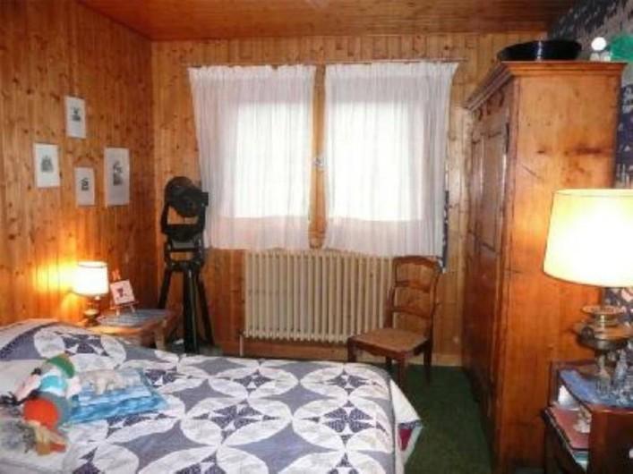 Location de vacances - Chalet à Saint-Gervais-les-Bains - Chambre à lit double