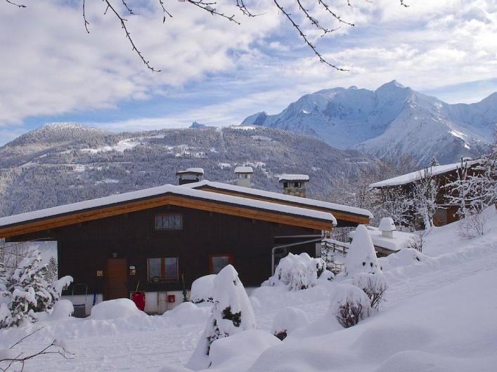 Location de vacances - Chalet à Saint-Gervais-les-Bains - Chalet l'hiver