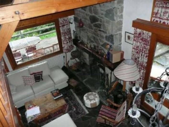 Location de vacances - Chalet à Saint-Gervais-les-Bains - Living