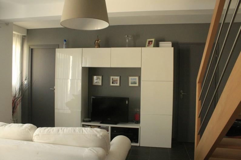 Location de vacances - Maison - Villa à Pluneret - poste télévision