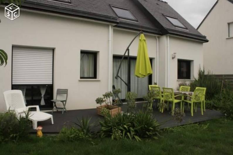 Location de vacances - Maison - Villa à Pluneret - exterieur coté terrasse