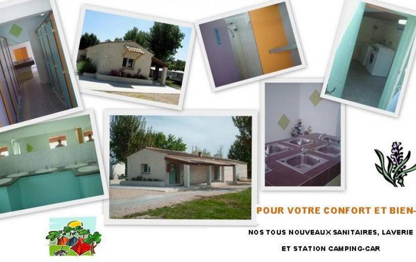Location de vacances - Bungalow - Mobilhome à Tourrettes - BLOCS-SANITAIRES