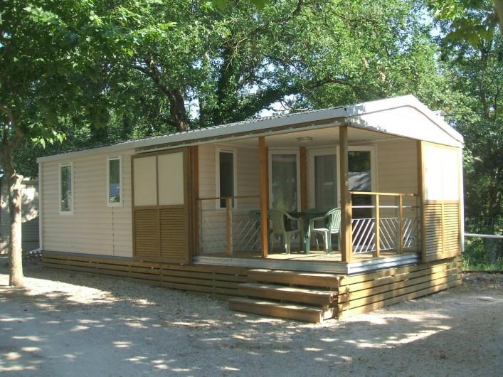 Location de vacances - Bungalow - Mobilhome à Tourrettes - MOBIL-HOME 4/6 PERSONNES TOUT CONFORT-CLIMATISATION