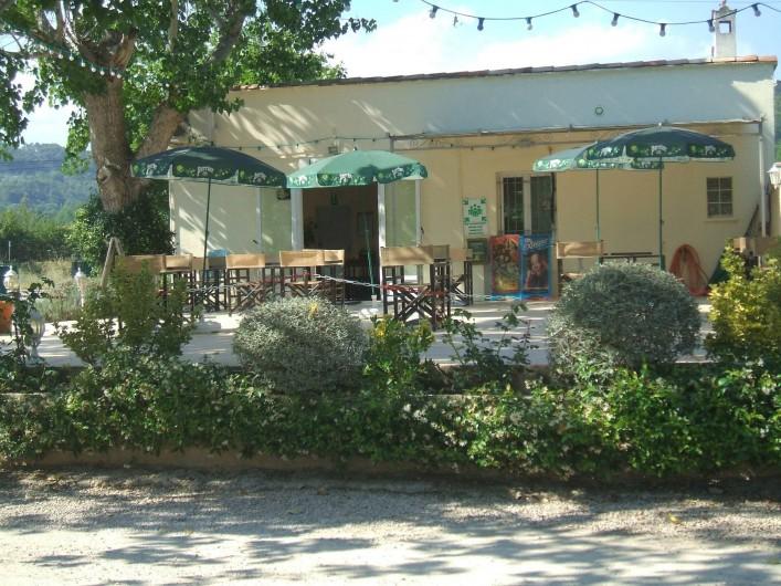 Location de vacances - Bungalow - Mobilhome à Tourrettes - SNACK