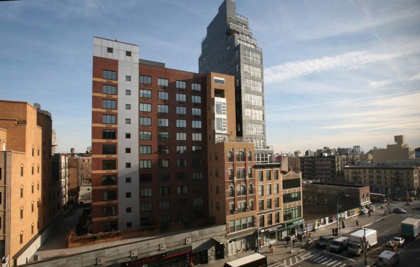 Eenkamerappartement In Manhatten : Bedroom luxury apartment with view in stat hotel condominium