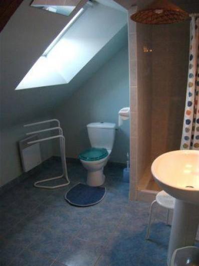Location de vacances - Gîte à Saint-Marcel - Salle d'eau WC
