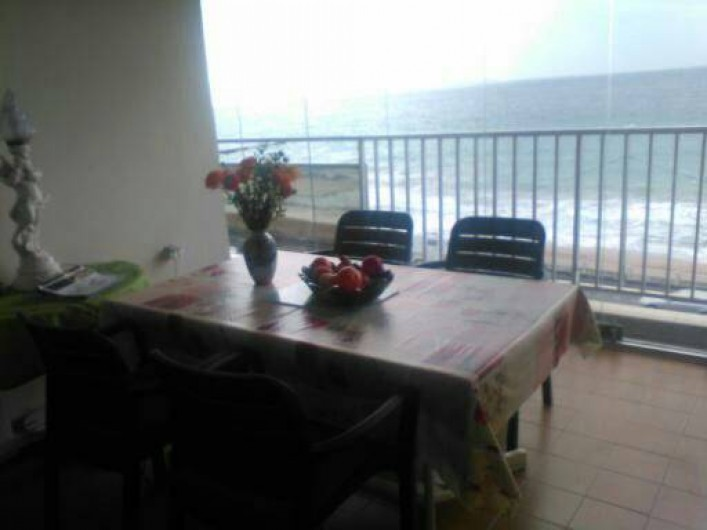 Location de vacances - Appartement à Cannes la Bocca - Terrasse