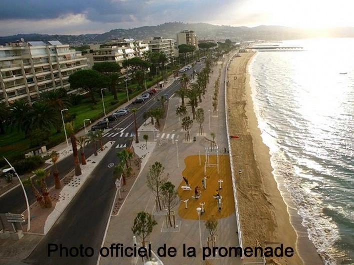 """Location de vacances - Appartement à Cannes la Bocca - Photo officielle, nouvel aménagement  """"BoccaCabana"""