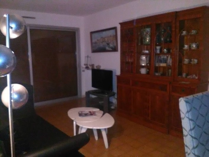 Location de vacances - Appartement à Cannes la Bocca - Salon