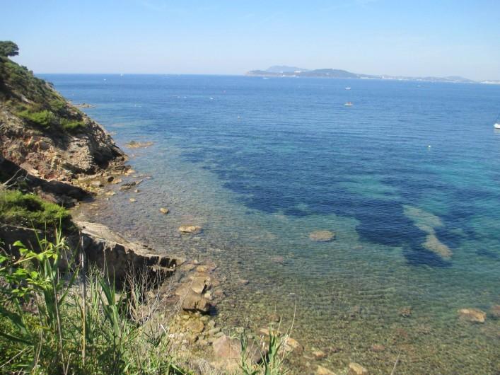 Location de vacances - Maison - Villa à Le Pradet - Bord de mer et plages à moins de 100m
