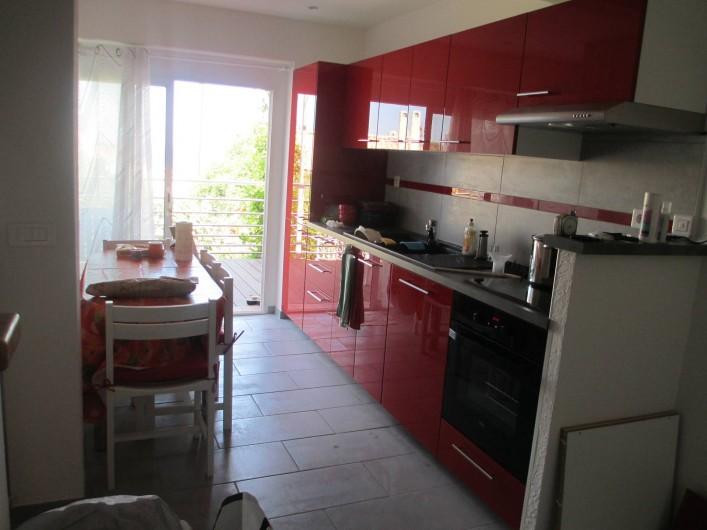 Location de vacances - Maison - Villa à Le Pradet - Cuisine équipée