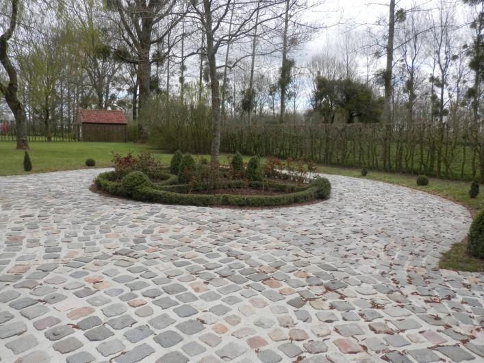 Location de vacances - Chambre d'hôtes à Lebiez - Jardin à la Française
