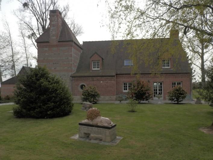 Location de vacances - Chambre d'hôtes à Lebiez - Parc