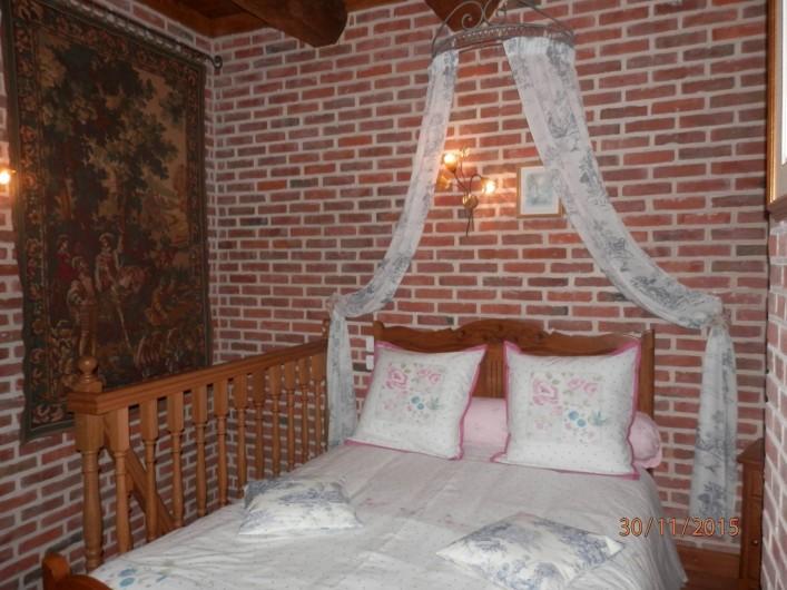 """Location de vacances - Chambre d'hôtes à Lebiez - Chambre du """"Vicomte"""""""