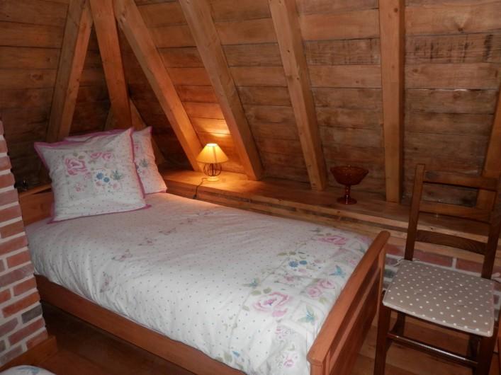 """Location de vacances - Chambre d'hôtes à Lebiez - Chambre du """"Meunier"""""""