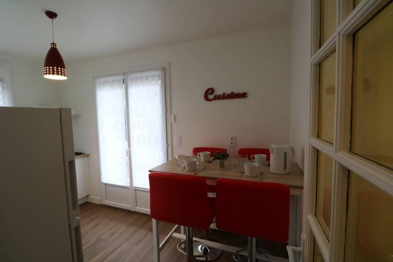 Location de vacances - Appartement à Aix-les-Bains - lits superposés avec lit-tiroirs